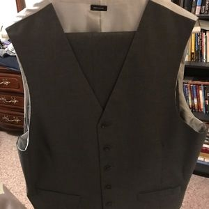Grooms vest and pants